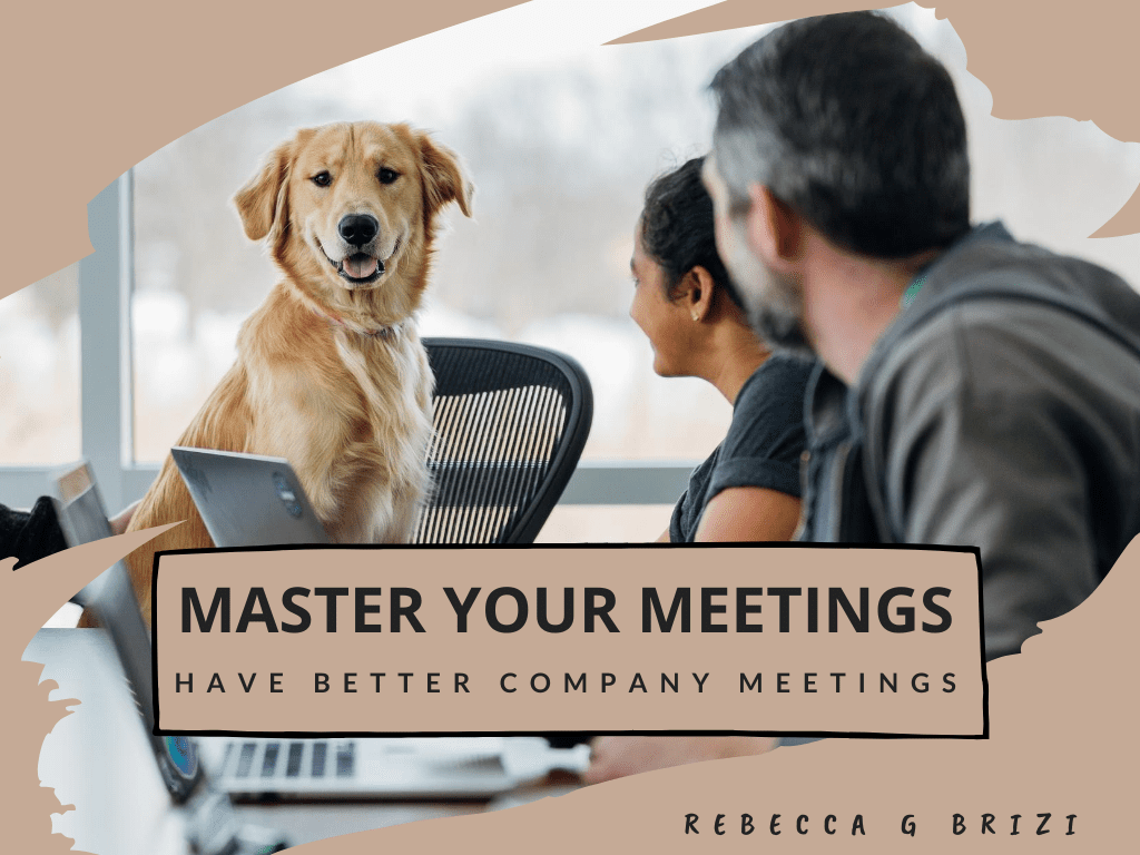 Master Your Meetings 1