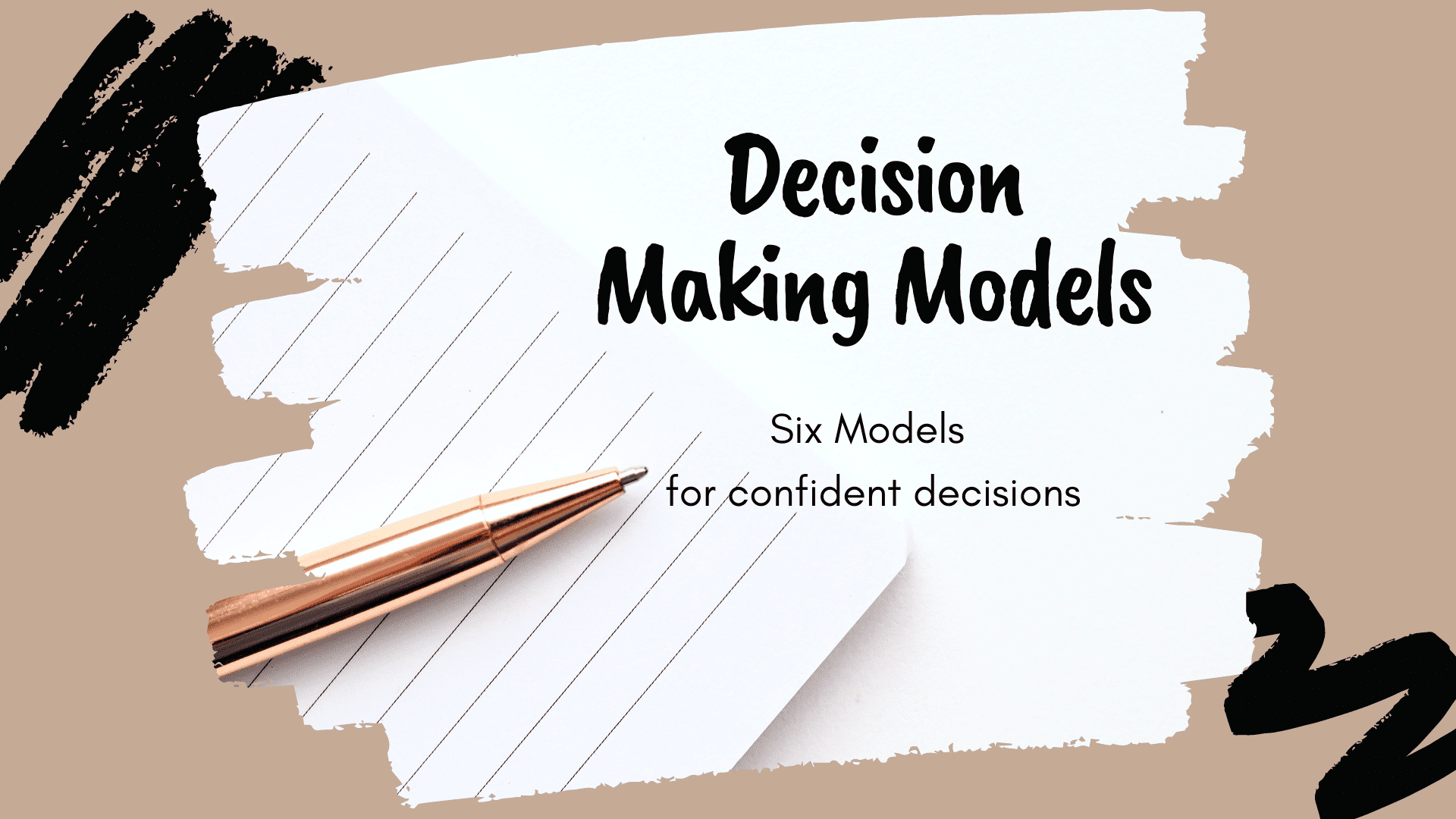 SS Decision Making Models